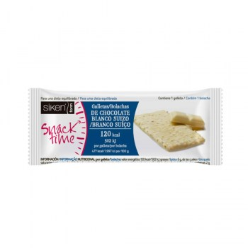 siken form galleta chocolate blanco 25gr